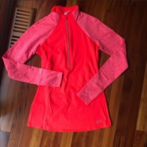 Under Armour women's semi fitted half zip
